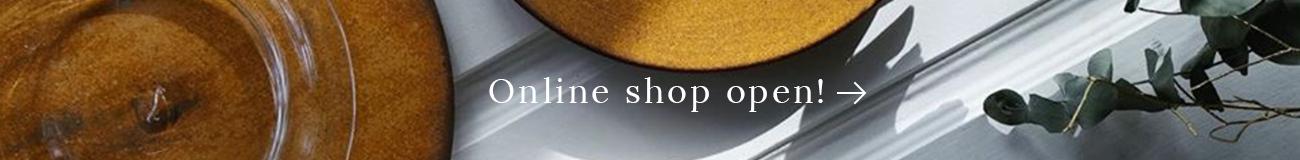 Online shop open!