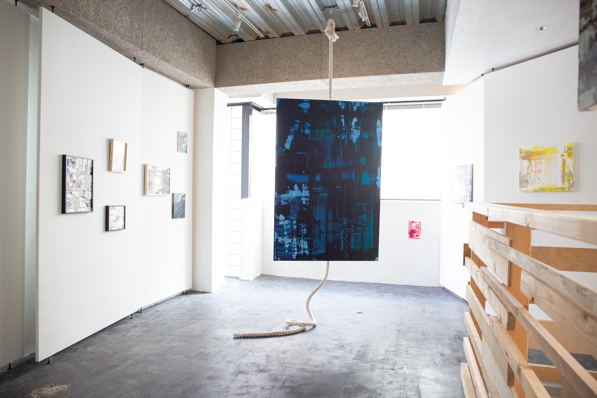 #3. Yuka Iwase solo exhibition  [PLANE PLAN  平面の冒険]
